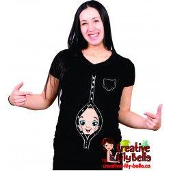 chandail de maternité chemise fashion 278
