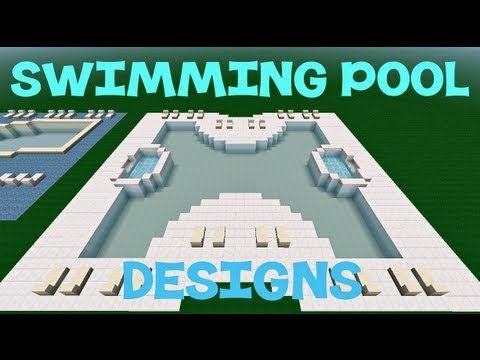 Minecraft Swimming Pool Designs Minecraft Pinterest Minecraft Architecture Minecraft