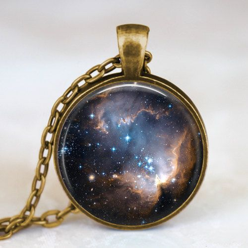 Starry night black space universe  pendant necklace ,  galaxy space  necklace, space universe pendant for men women by starmekcreations on Etsy https://www.etsy.com/listing/128184315/starry-night-black-space-universe