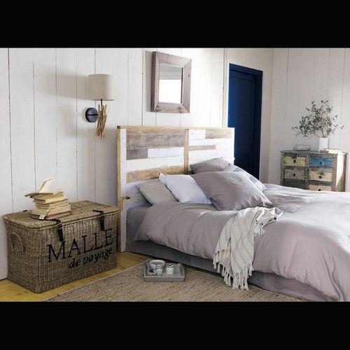 Les 62 meilleures images propos de chambre sur pinterest t tes de lit f - Tete de lit bois maison du monde ...
