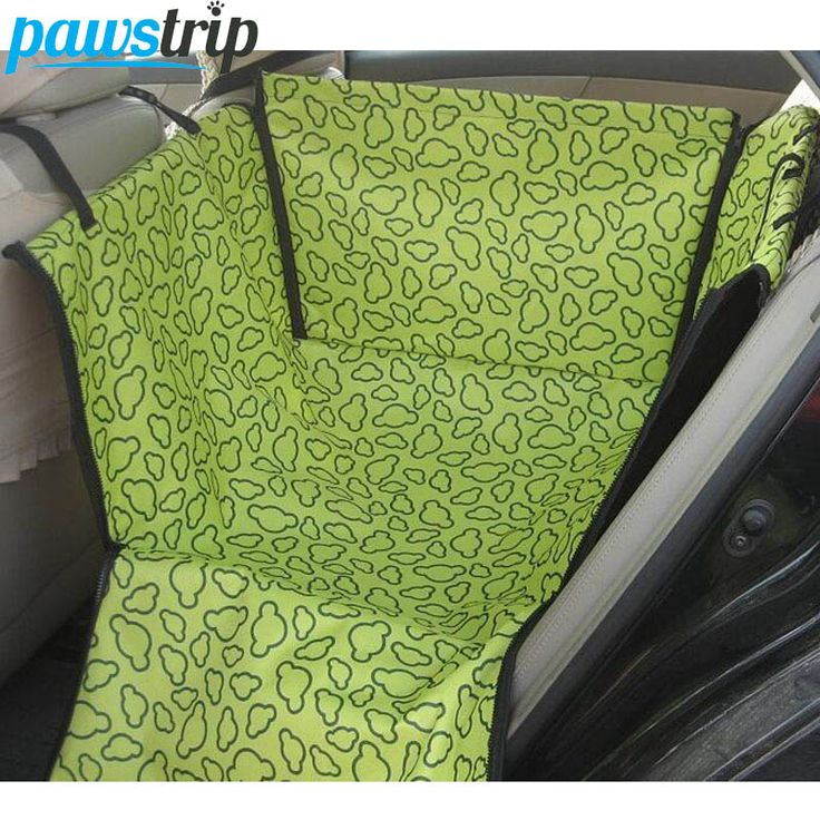 4 Colors Pet Carriers Dog Car Seat Cover Waterproof Oxford Dog Hammock Car Protector Outdoor Travel Accessories #Affiliate