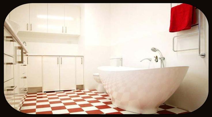 benchtops, kitchen sinks, bathroom basins, freestanding bathtubs, paving and flooring --> www.thestonesuperstore.com