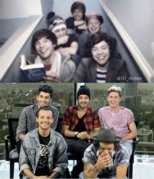#one_direction #then #and #now <3