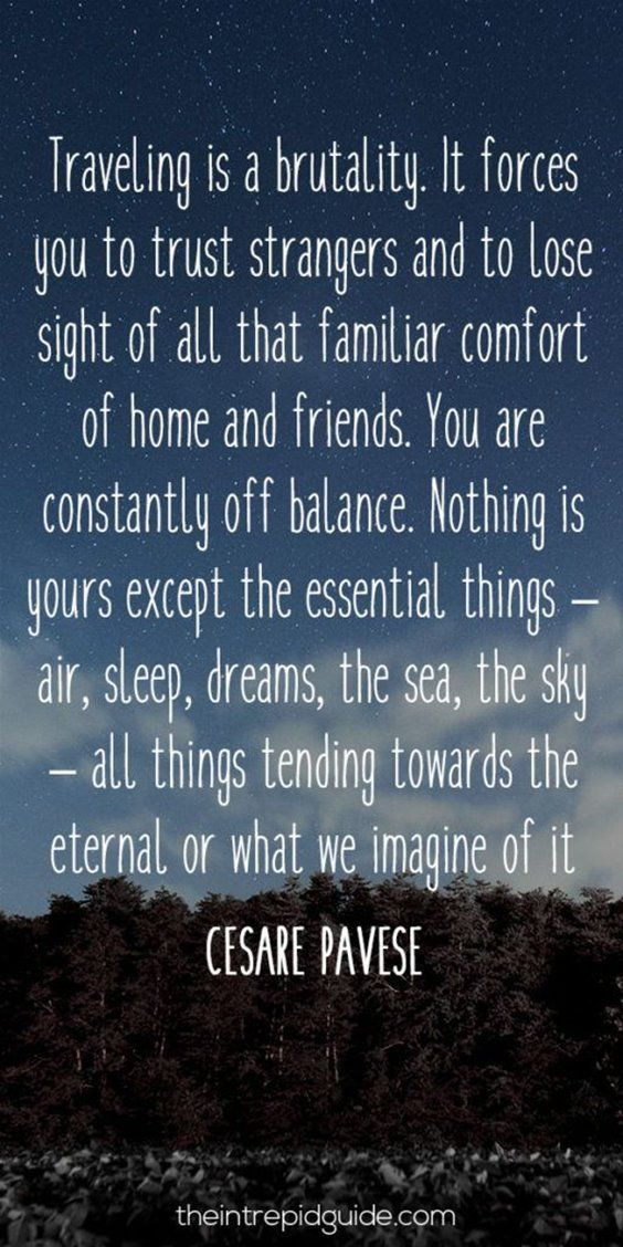 86 Inspirational Quotes To Inspire Your Inner Wanderlust Time To