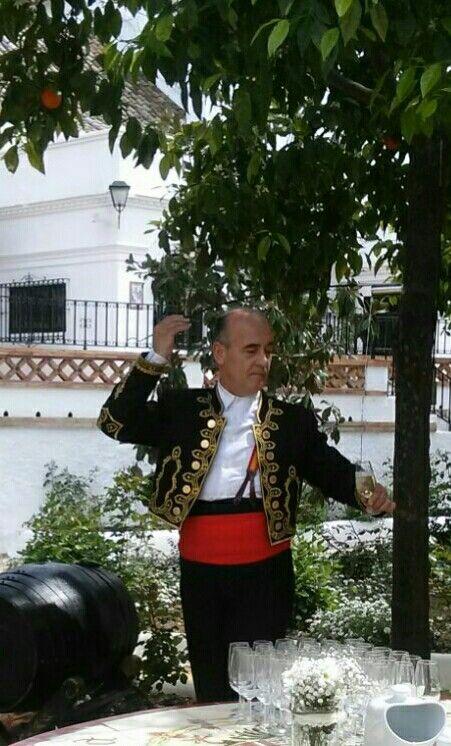 My great master,a real venenciador in Seville.