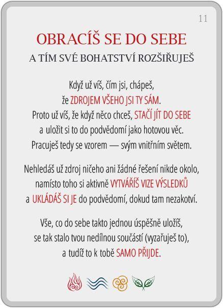 Portál pro osobní rozvoj změnou podvědomí a vlastní přitažlivosti: Člověče, poznej se — 11/24: Obracíš se do sebe
