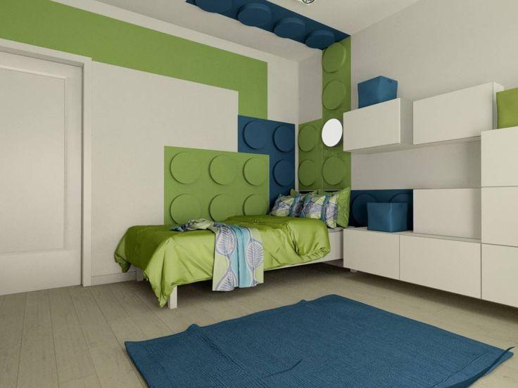 Kinderzimmer von fluffo fabryka miękkich ścian