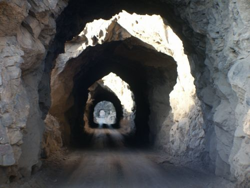 Buena Vista, Colorado...this is a great ez biking trail and fun tunnels to ride through....