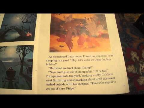 Lady And The Tramp Read Along Book And Cassette - YouTube