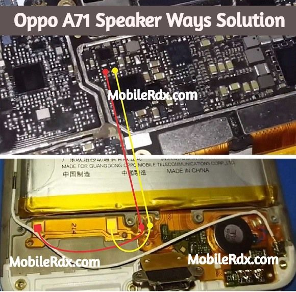 Oppo A71 Speaker Ways Ringer Problem Jumper Solution Oppo A71