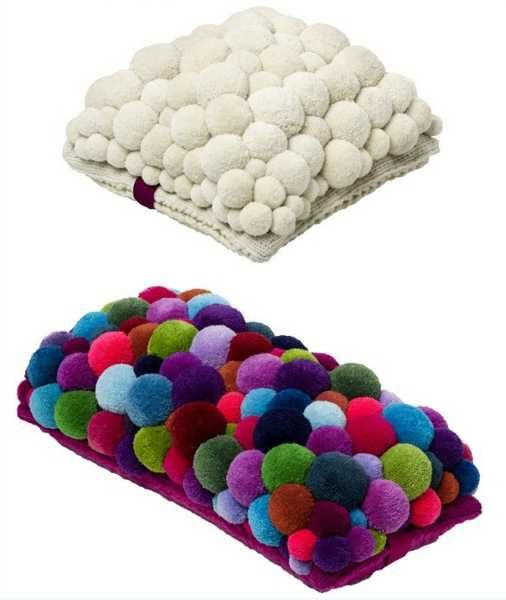 6 Creative Home Decorating Ideas With Pompons