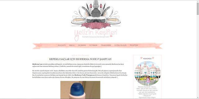Benim Tutkum - Kozmetik ve Bakım Hakkında Herşey: Yeliz'in Keşifleri - Blog Şablon Tasarımı