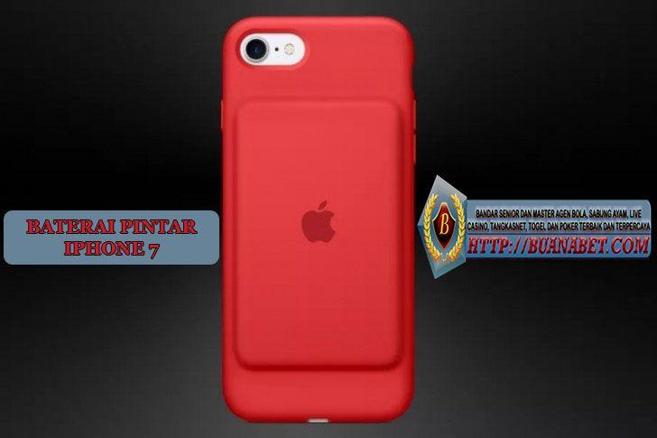 Baterai Pintar Merah iPhone 7.