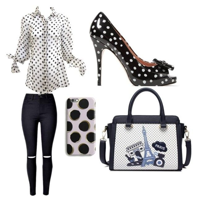 All about that polka dot by rimalee on Polyvore featuring polyvore, fashion, style, RED Valentino and clothing