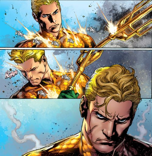 New 52 Aquaman, only positive I've seen so far in dc new 52