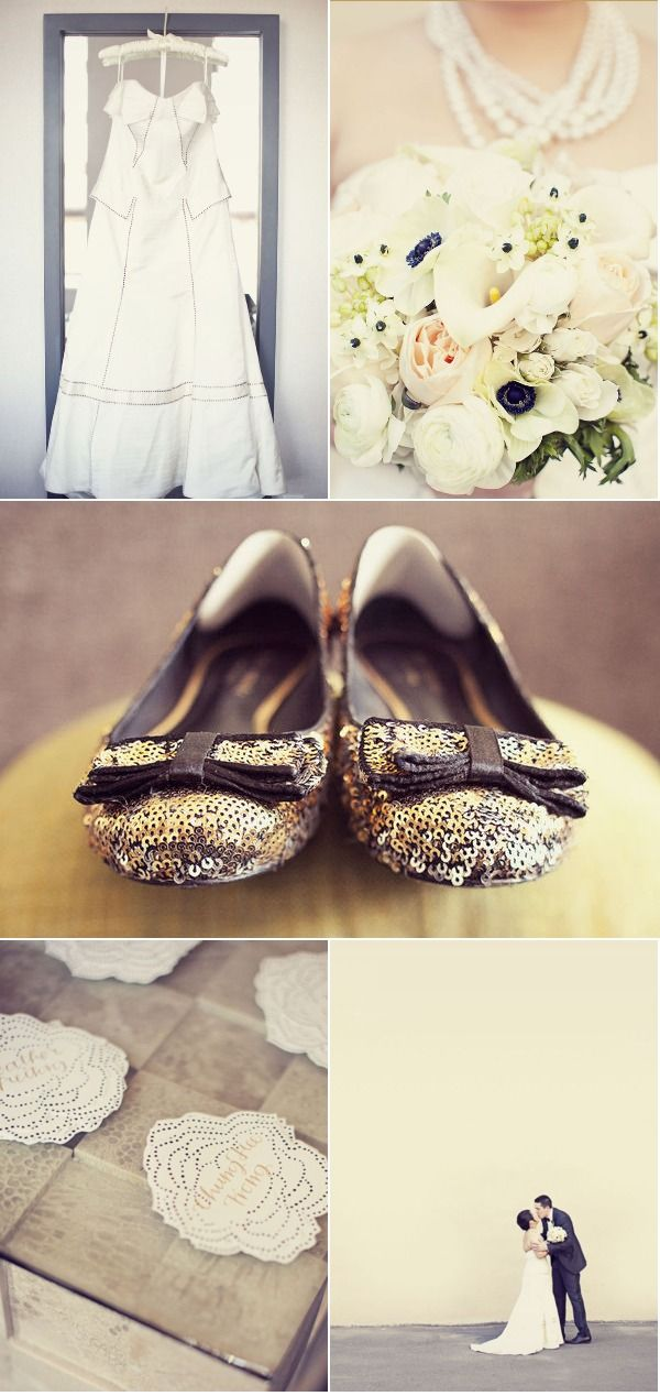 sequin flats: Labor, Chill Weddings, Lace Wedding Dress, Philadelphia Wedding, Wedding Ideas, Cheap Wedding Dress, Wedding Dreams, Pretty Flowers, Dream Wedding