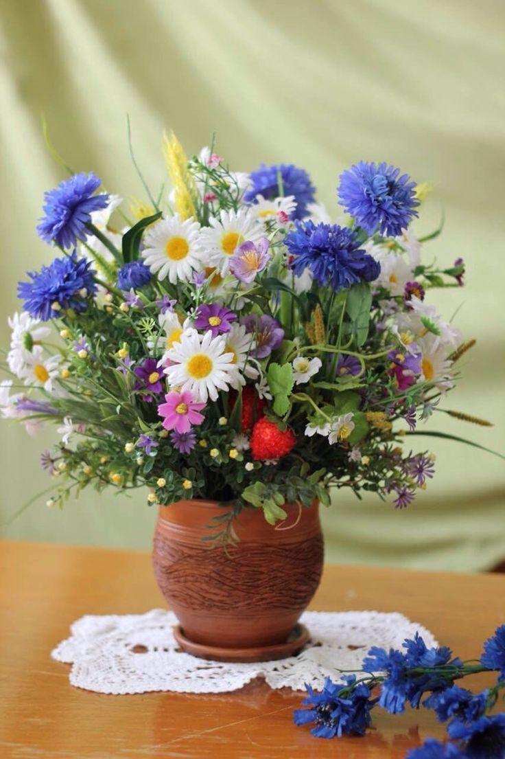букет очень красивых полевых цветов фото коллекции