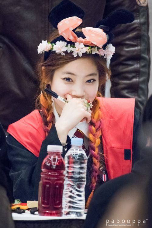 "TWICE • Dahyun ""Once a fan, twice the fun!"" :) #Kpoplove #JYP #Idols"