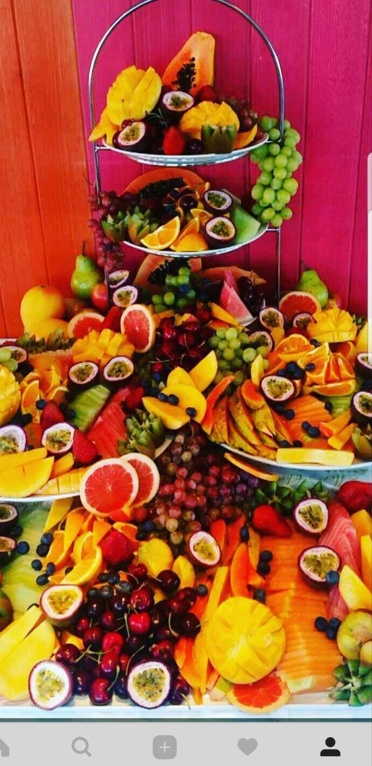 Fruit Display Buffet