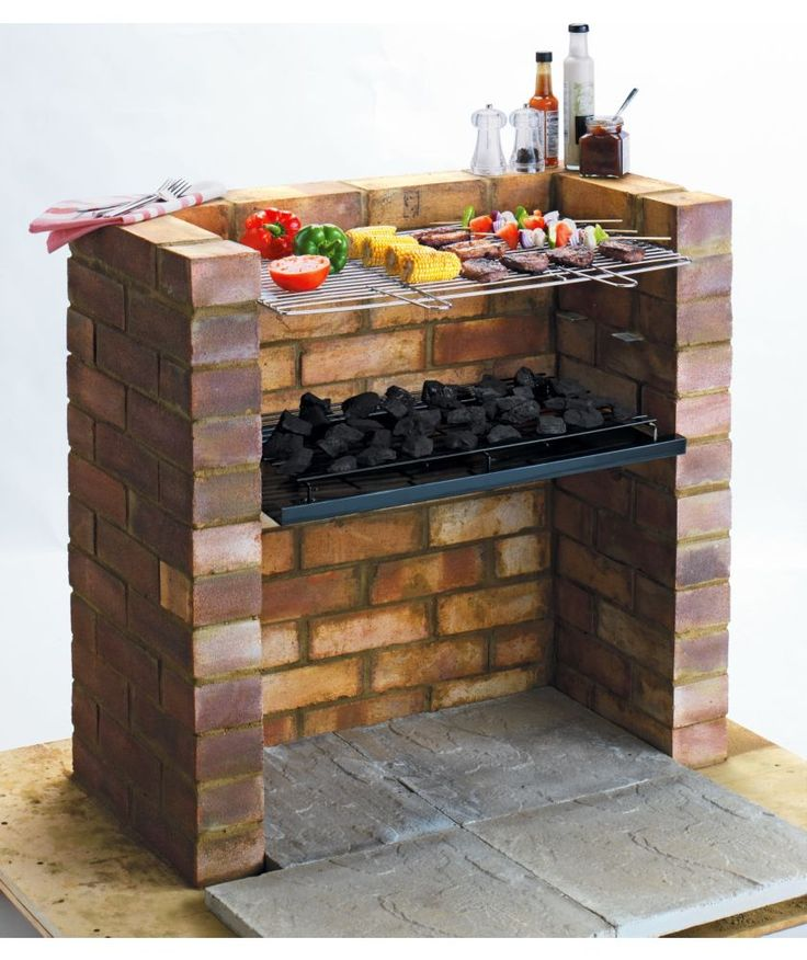 Buy Built-in Charcoal BBQ at Argos.co.uk - Your Online Shop for Barbecues.