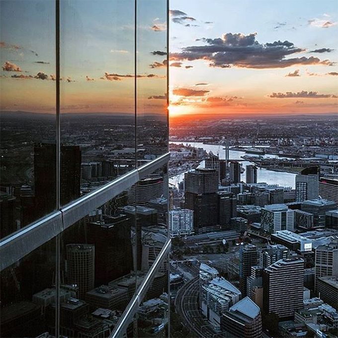 Eureka Skydeck view Melbourne