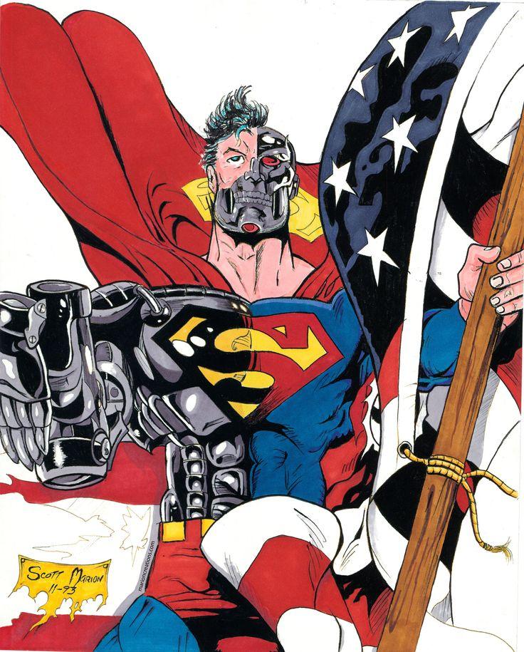 89 Best Cyborg Superman Images On Pinterest