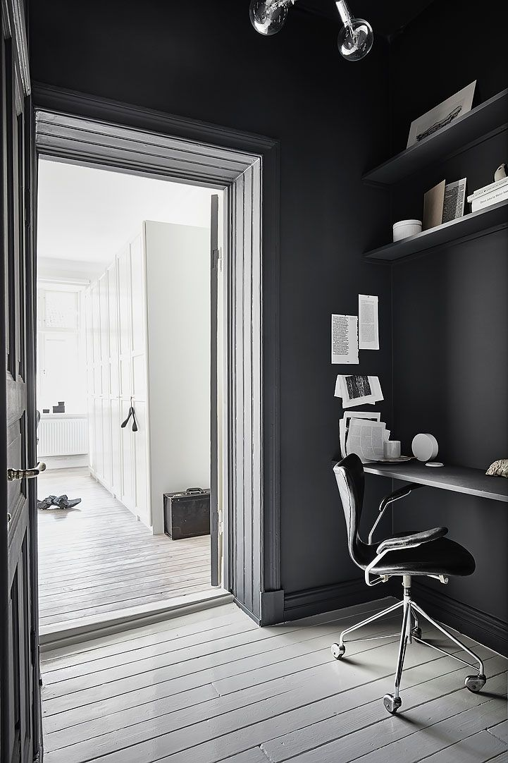 Black workspace