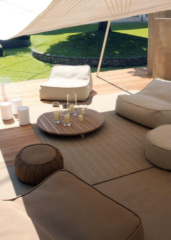 De 25 bedste id er inden for sofa chaise longue p for Chaise longue de jardin ikea