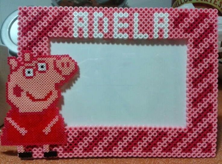 19 best pocoyo y peppa pig images on pinterest hama beads hama beads patterns and peppa pig - Fusee peppa pig ...