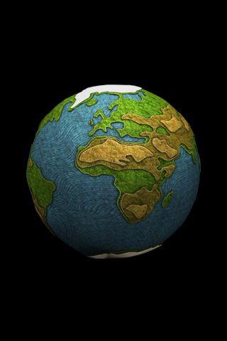 Vamos a conocer el planeta tierra y aremos uno con pintura dedos.