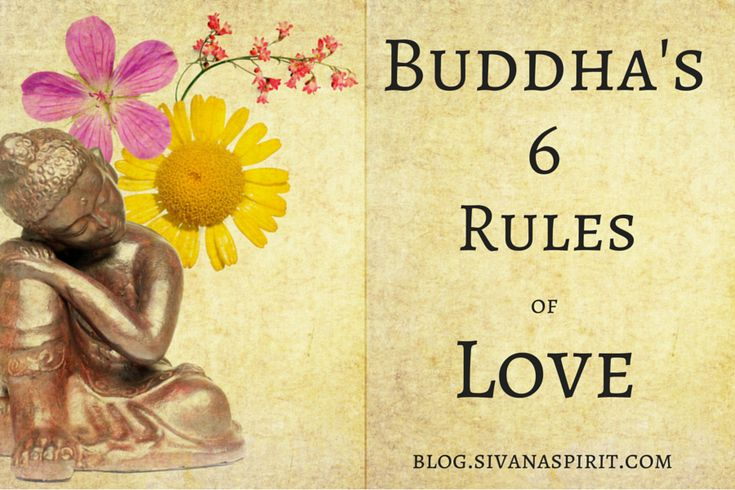 Buddha is world renowned for his deep wisdom on spirituality. But did you know he gave advice on love, too?