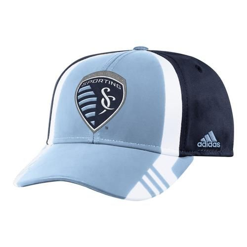 Sporting Kansas City Men's Adidas Structured Adjustable Hat