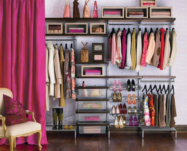 Exposed Closet Ideas