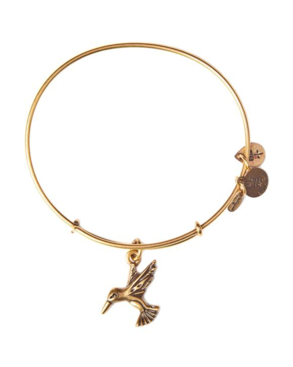 Alex and Ani Hummingbird Expandable Wire Bangle | Bloomingdales's