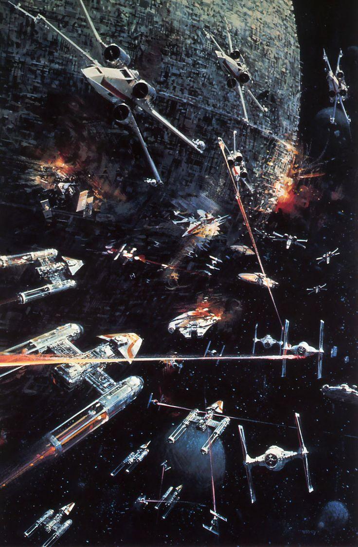 I love the original star wars concept art. It's amazing - Imgur