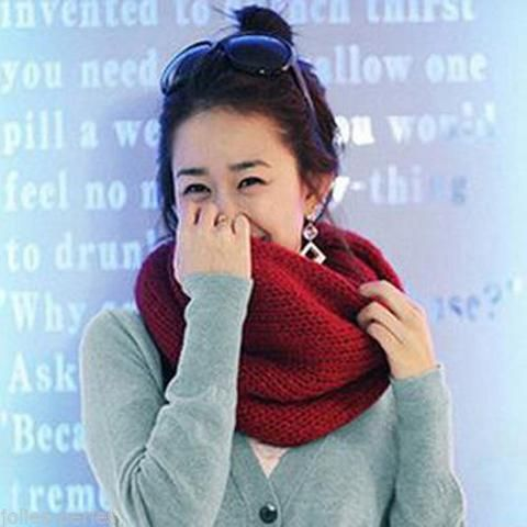 JP Hot Sale New Fashion All-match Women's Accessories Autumn Warm Woolen Scarf