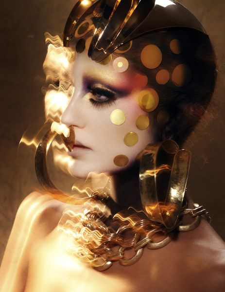 GOLDEN MERMAID by Mario Ville (Kattaca) , via Behance