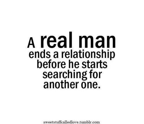 Cheaters!!!!! Same applies to a woman. You are a selfish coward otherwise.
