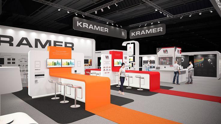 Kramer @ InfoComm 2015 Orlando on Behance