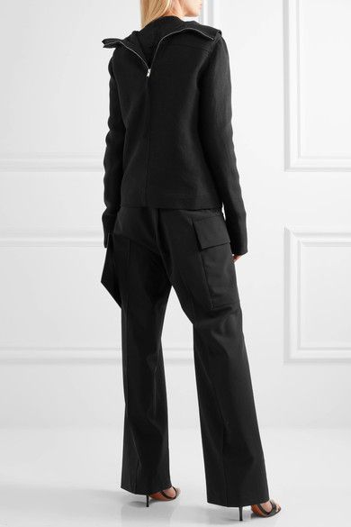 Rick Owens - Linen Jacket - Black - IT40