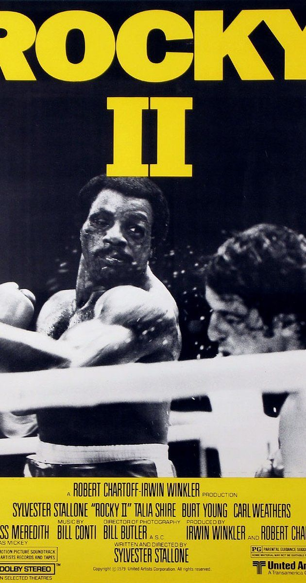 Directed by Sylvester Stallone.  With Sylvester Stallone, Talia Shire, Burt Young, Carl Weathers. Rocky struggles in family life after his bout with Apollo Creed, while the embarrassed champ insistently goads him to accept a challenge for a rematch.