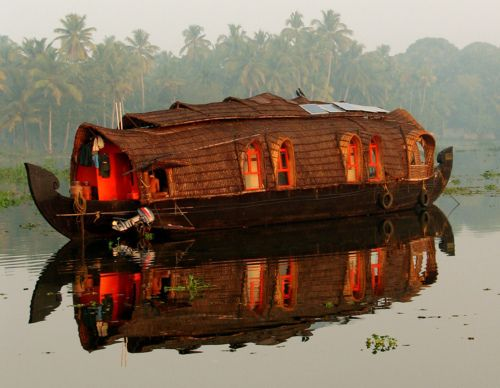 Boat house boat light.
