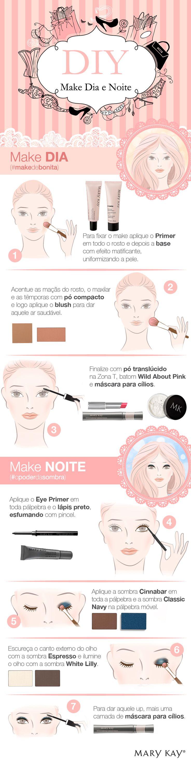 (DIY): Faça o #makedebonita perfeito para o dia a dia se transformar naquele make lindo pra noite!