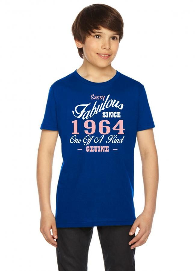 sassy fabulous since 1964 birthday gift Youth Tee