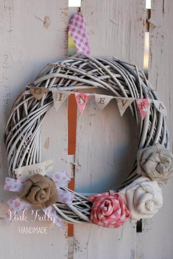 Pink Frilly: Ghirlande nascita per bimbi speciali