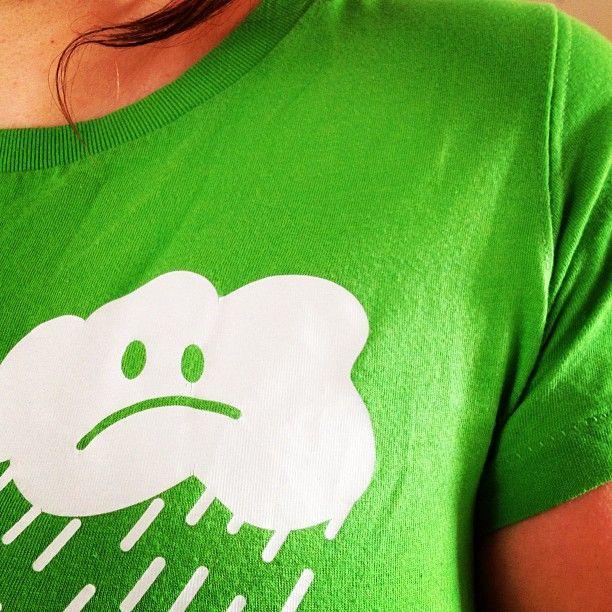 grumpy raincloud t-shirt :: teeandtoast.com