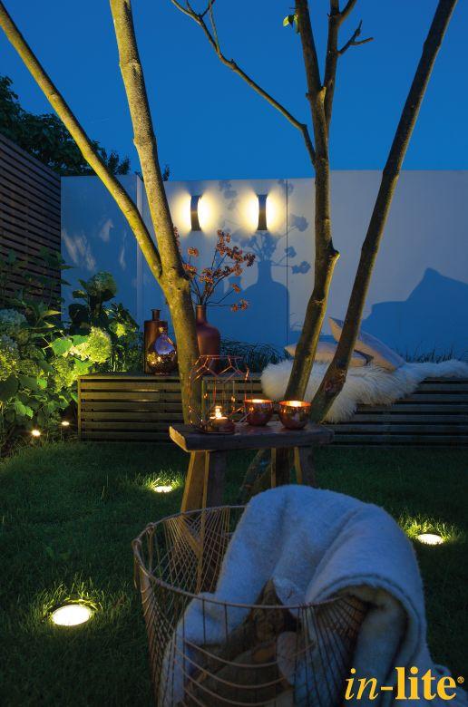 Tuin | Schutting | Boom | Modern | CURV | Wandlamp | Buitenverlichting | Outdoor lighting