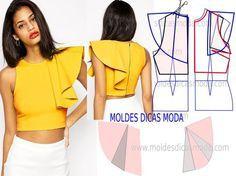 Como hacer blusas bonitas con moldes01