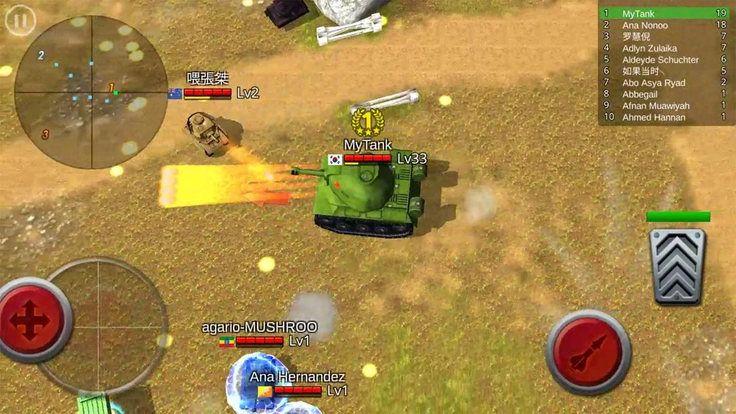 حرب الدبابات اون لاين Battle Tank مهكرة للاندرويد عملات بدون