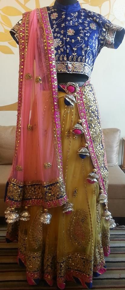 dupatta with tassels